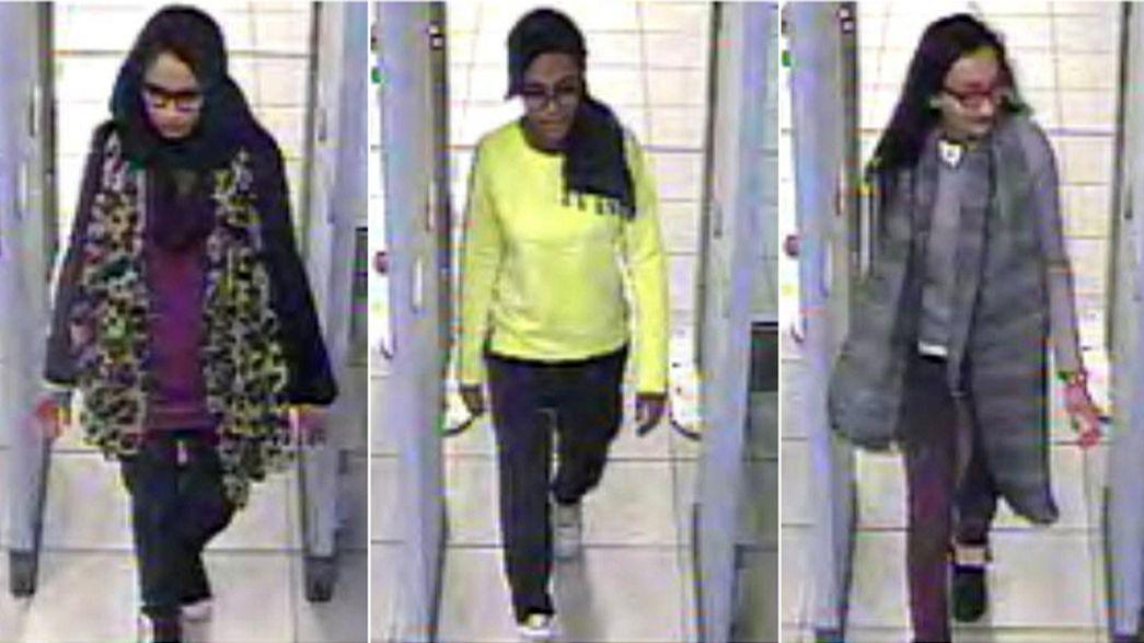 ¿Han entrado en Siria las tres adolescentes británicas fugadas?