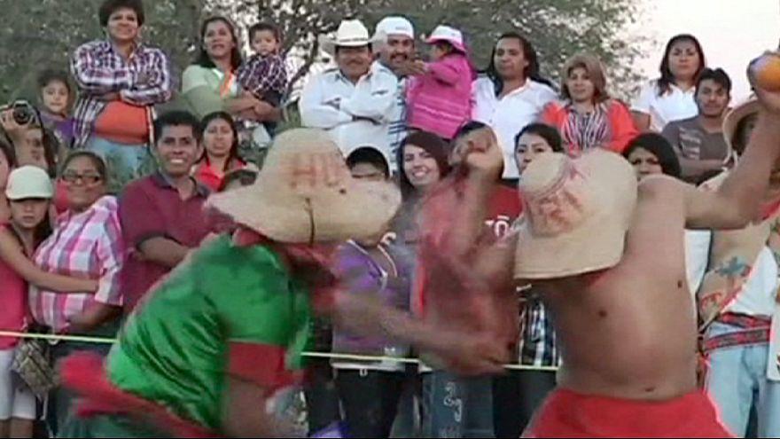 Оранжевый фестиваль в Мексике