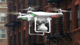 Drone does the shopping in Ankara
