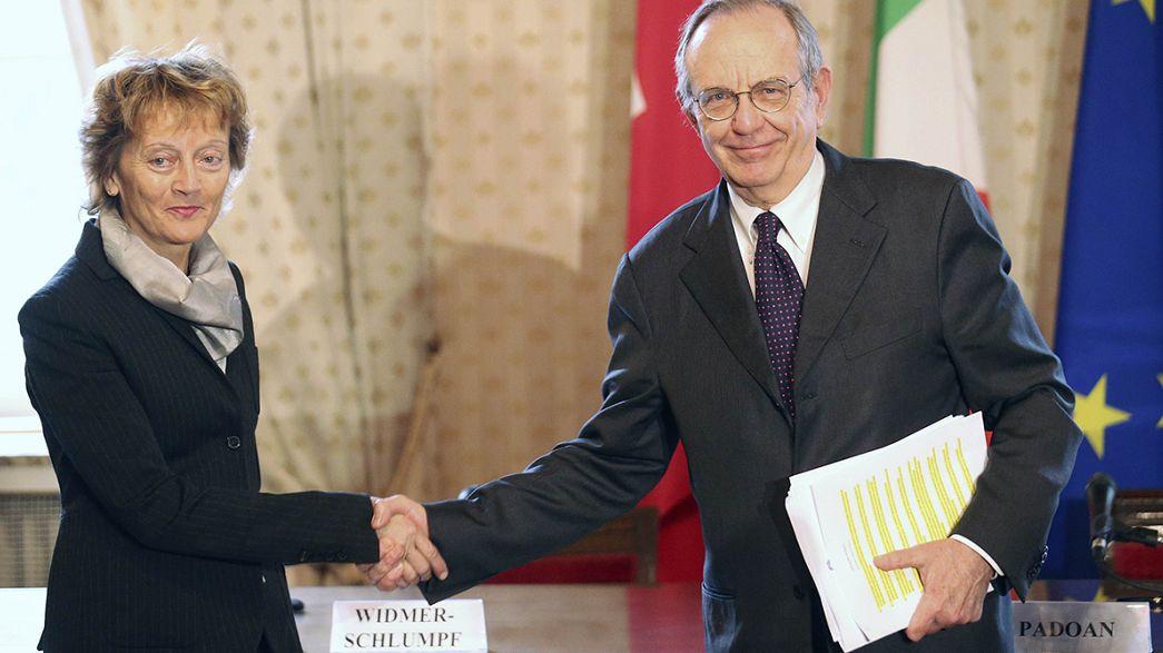 Italia-Svizzera: accordo siglato. È la fine del segreto bancario