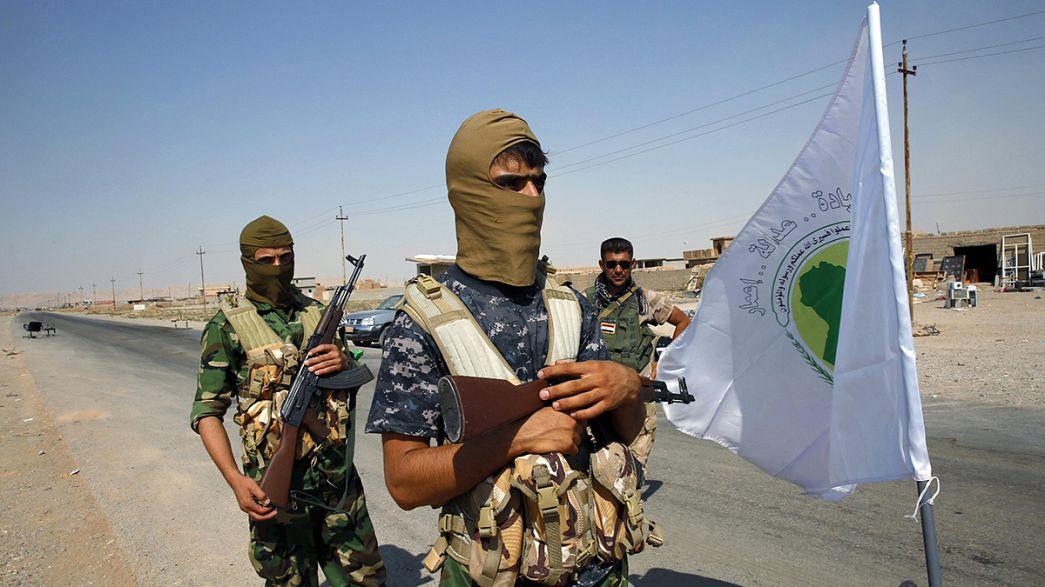 Exército iraquiano avança na reconquista de Al-Bagdhadi