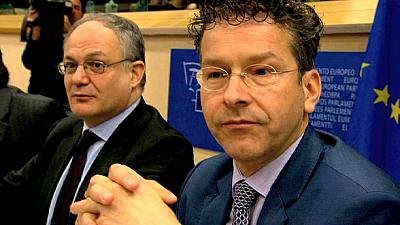 Los eurodiputados opinan sobre la lista griega