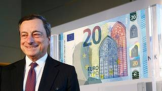 El Banco Central Europeo desvela el nuevo billete de 20 euros