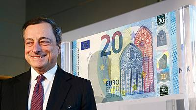 A nova nota de 20 euros
