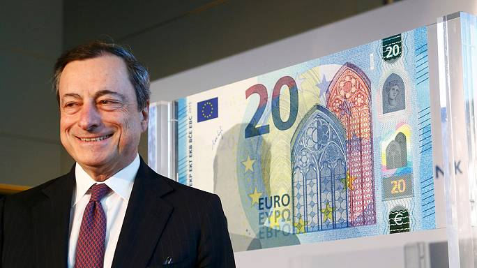 New Gothic 20 euro note revealed