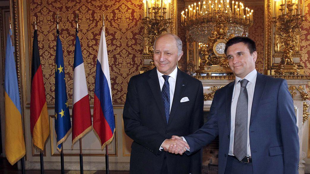 Paris'te önemli Ukrayna toplantısı