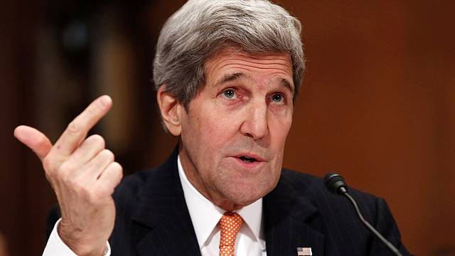 Kerry accuses Russia of lying over Ukraine involvement