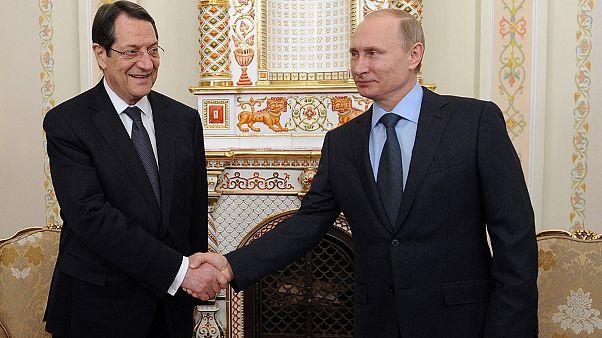 Με Πούτιν και Μεντβέντεφ συναντήθηκε ο Πρόεδρος της Κύπρου