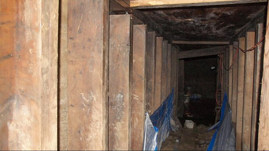 Mystery tunnel in Toronto contained poppy and crucifix, police say