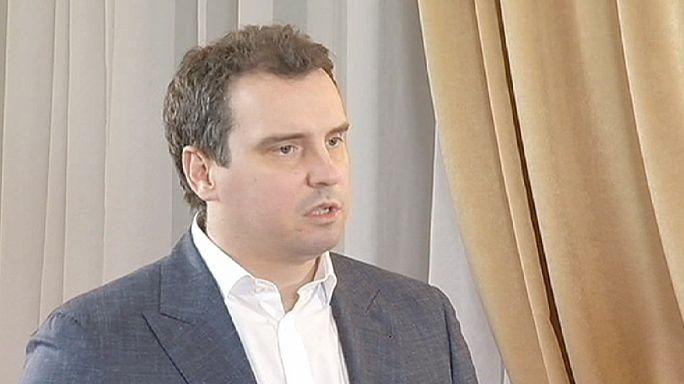 مقابة مع وزير الإقتصاد الأوكراني  ايفاراس ابراموفيتش