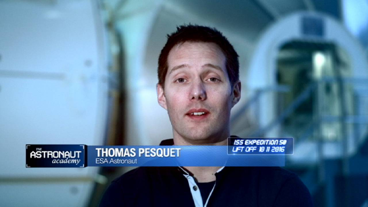 ESA astronaut Thomas Pesquet on Mars, Rosetta and space tourism