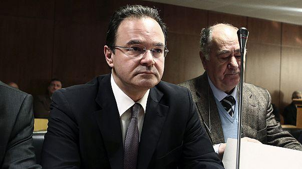 Yunanistan eski Maliye Bakanı Papakonstantinu Yüce Divan'da