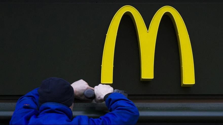 Unions accuse McDonald's of big tax takeaway