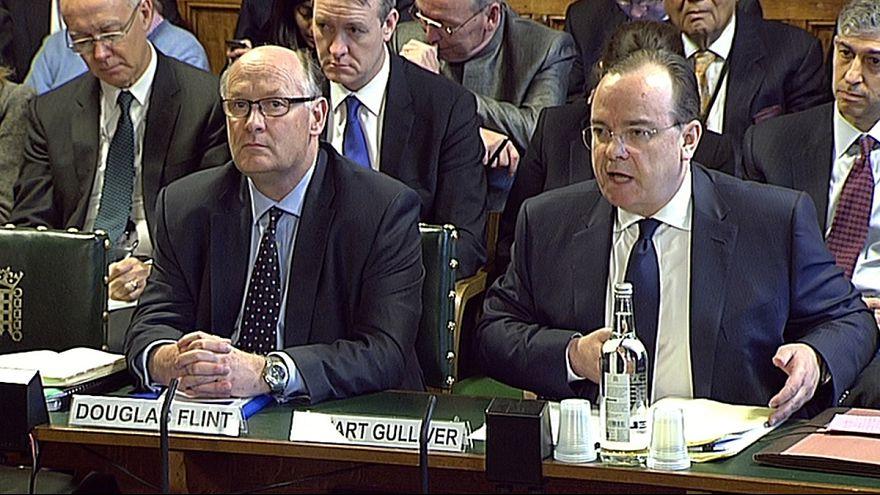 """مدراء البنك البريطاني"""" أش.أس.بي.سي"""" يقدمون اعتذاراتهم عن فضيحة فرعهم في سويسرا أمام البرلمان البريطاني"""