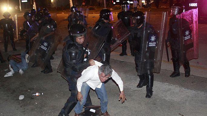 Halálos összecsapás a mexikói pedagógus-tüntetésen