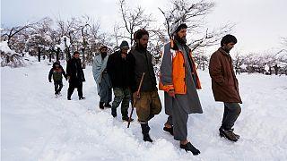 Afganistan'da son yılların en büyük çığ felaketi