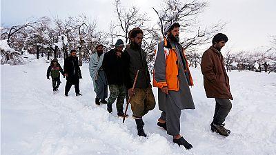 Avalanches meurtrières en Afghanistan