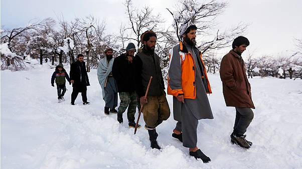 Avalanches claim up to a hundred lives in Afghanistan
