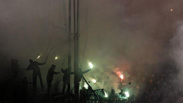 Матчи высшего футбольного дивизиона в Греции приостановлены