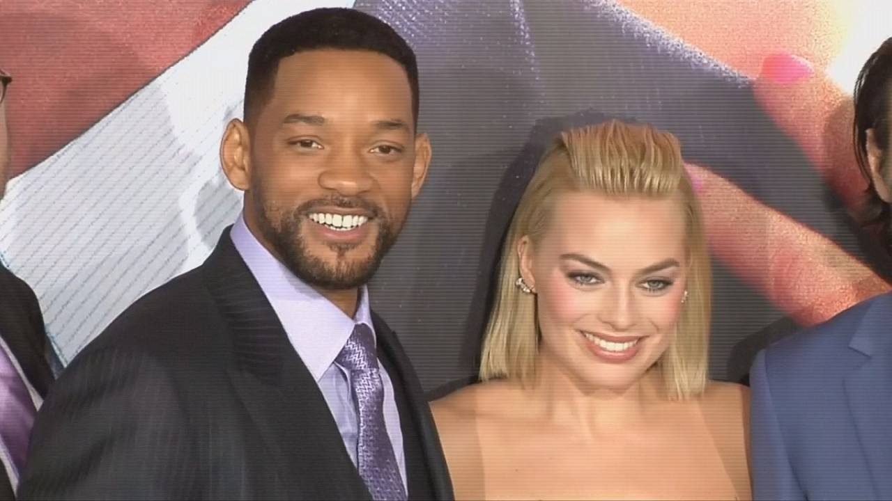 Will Smith is back opposite Wolf of Wall Street's Margot Robbie