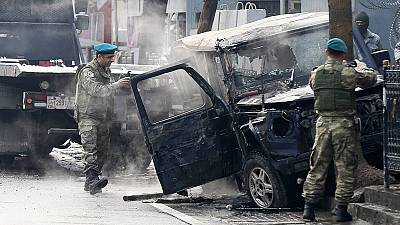 Afghanistan: Kabul suicide car bomb targets foreign forces, at least 2 dead