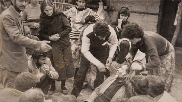 Ermenilerin Hocalı'da katlettiği 613 şehit anıldı