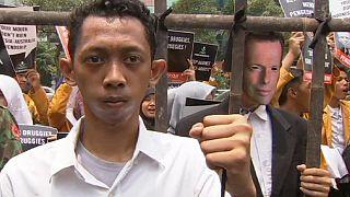Indonesien: Demonstration für Hinrichtung zweier Australier