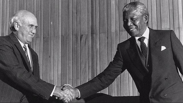 """The other man retrata a de Klerck, el """"otro"""" responsable del fin del Apartheid"""