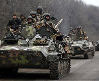 بدء سحب الآليات الثقيلة في شرق أوكرانيا تنفيذاً لإعلان وقف النار
