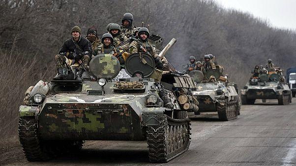 Украина: обе стороны начинают отвод тяжёлых вооружений