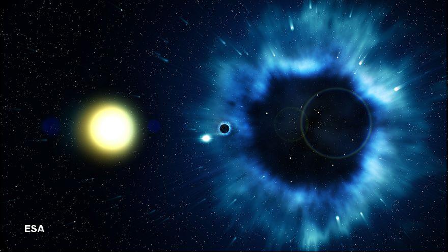 Resultado de imagen de La masa de un agujero negro ¿qué será?