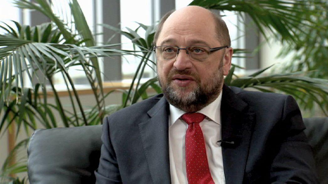 """Martin Schulz: """"Griechenland ist nicht schlecht behandelt worden"""""""