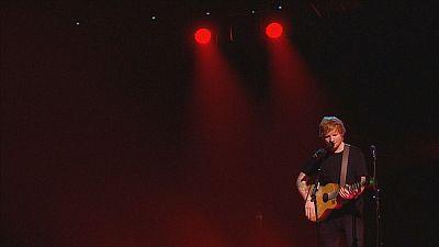 Ed Sheeran sweeps the board at Brit Awards