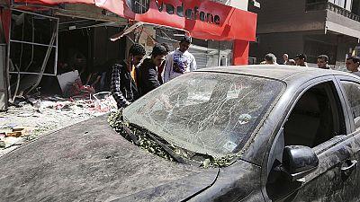Una cadena de atentados en Egipto acaba con la vida de al menos una persona y deja varios heridos