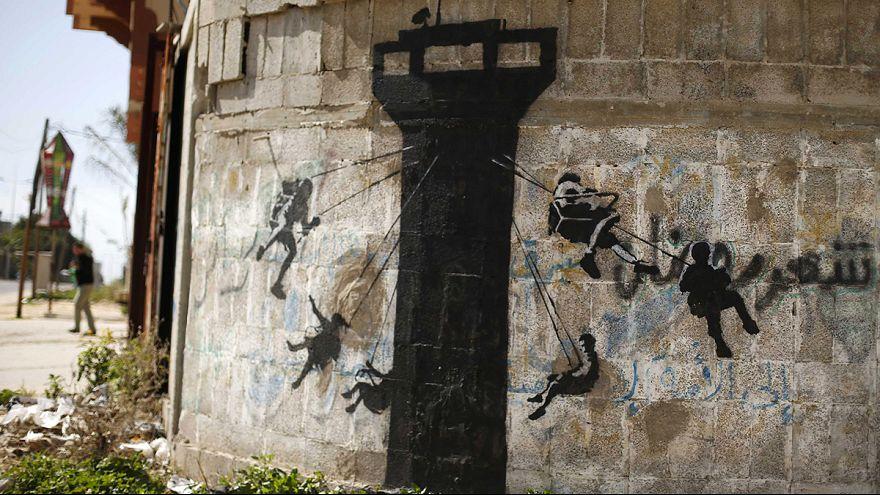 Video: Banksy lädt Touristen ein nach...