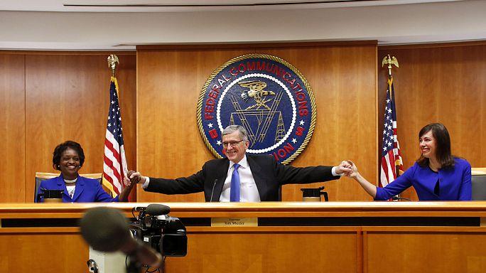 ABD tartışmalı düzenlemeyle internette yeni döneme girdi