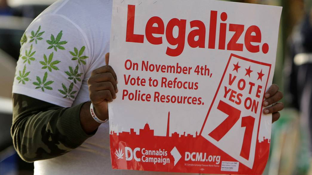 Washington legaliza marijuana