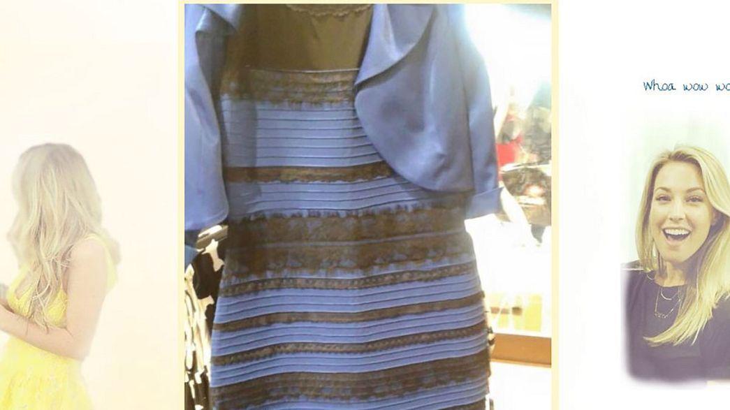 #TheDress Internet-Hype: Welche Farbe hat dieses Kleid?