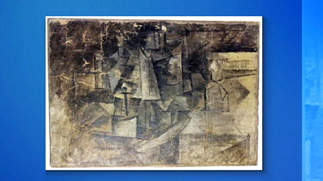 37 dolarlık hediye paketinden Picasso tablosu çıktı