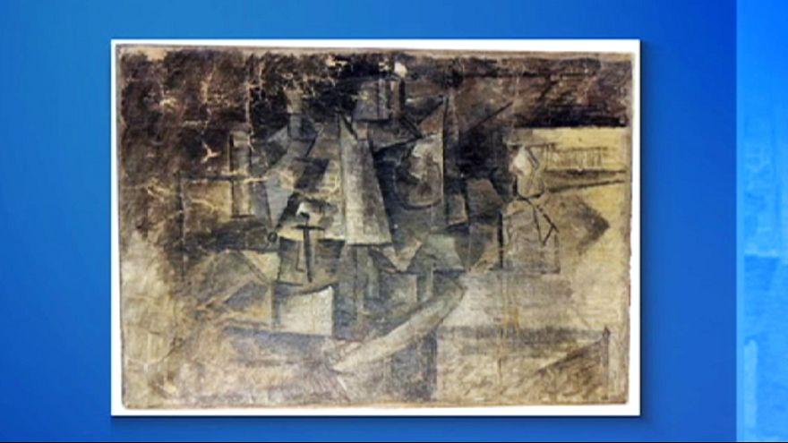 Gestohlener Picasso nach zehn Jahren als 37-Dollar-Weihnachtspaket wiederentdeckt