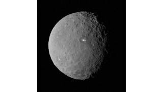 Mystery bright spots on dwarf planet Ceres puzzle Nasa