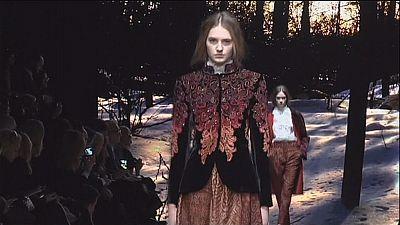 Alberta Ferretti's Renaissance-inspired collection wows at Milan Fashion Week