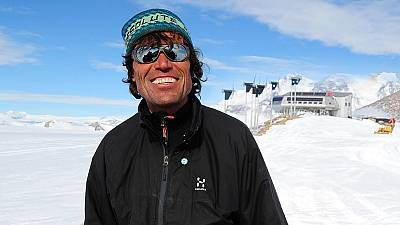 """Alain Hubert: """"It's not that cold, the average is about -20C"""""""