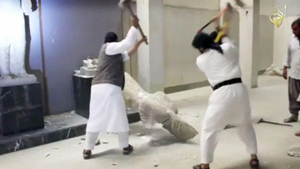 La Unesco pide reunión urgente del Consejo de Seguridad tras ataque al Museo de Mosul