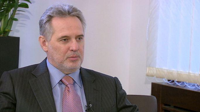 """Дмитрий Фирташ: """"Европа, Украина и Россия должны садиться и разговаривать""""..."""