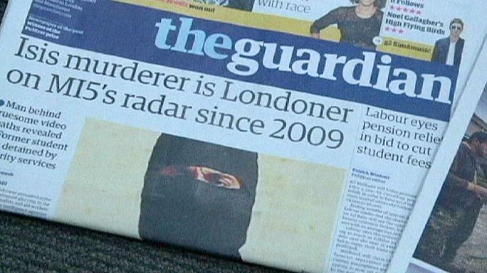 A túszokat lefejező terrorista miatt bírálják a brit hatóságokat