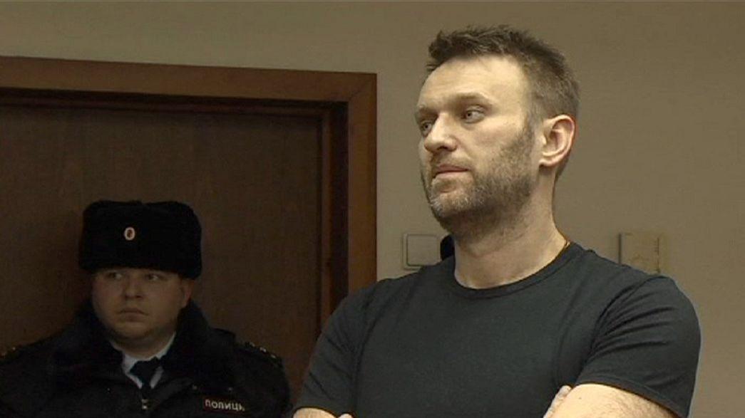 Russian court upholds Navalny prison sentence
