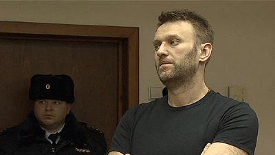 Russian court uphelds Navalny prison sentence