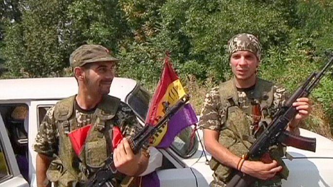 إسبان وإسرائيليون يقاتلون إلى جانب الإنفصاليين في الشرق الأوكراني