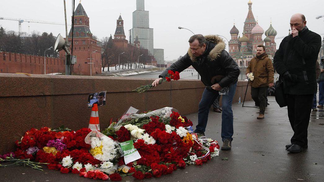 Muhalif lider Nemtsov suikasti sonrası Moskova alarmda